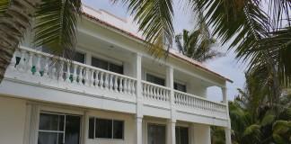 Front of White Acocote Inn