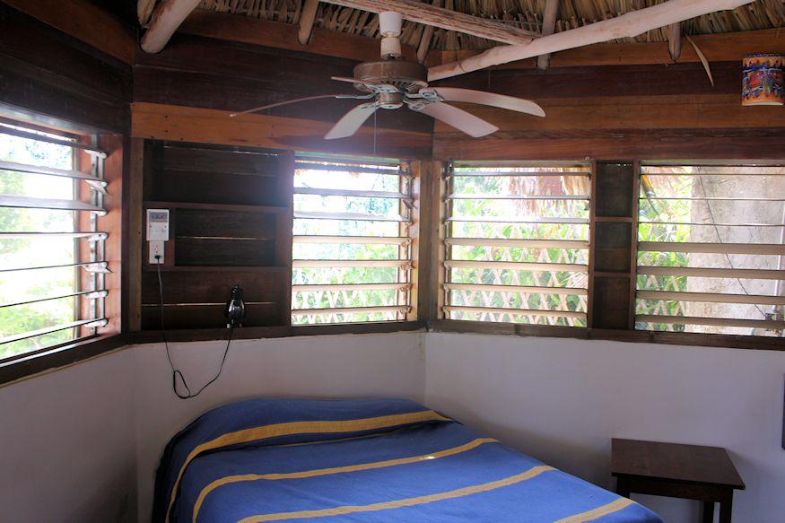 Bedroom in Resort hut