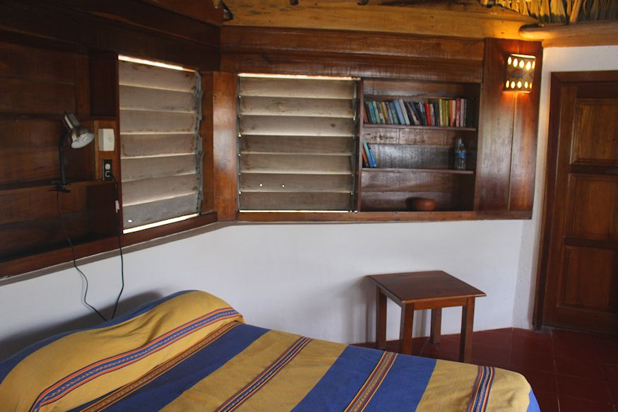 Bed in Hut at Coco's