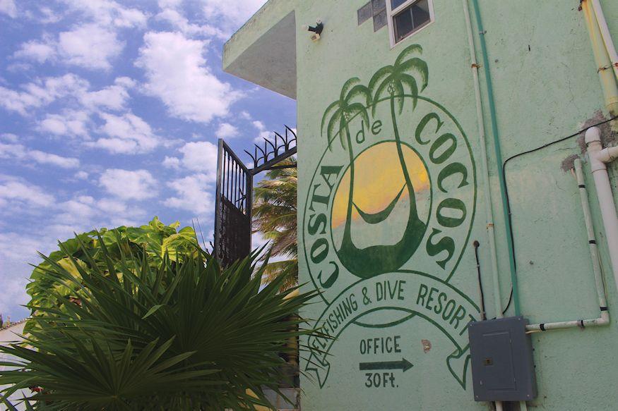Costa de Cocos Resort Sign Xcalak