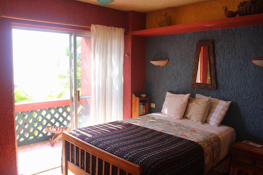 Sin Duda Villas Bed and View