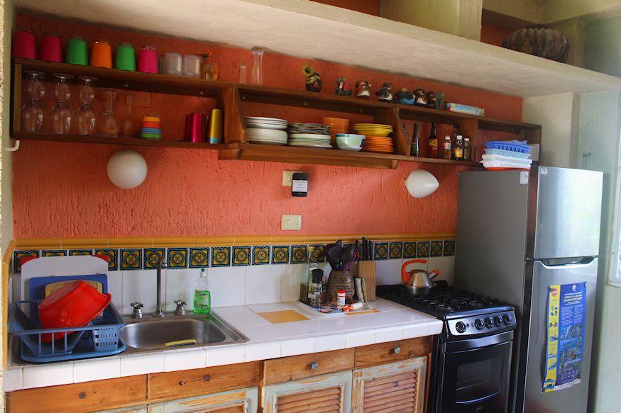Sin Duda Villas Shared Kitchen