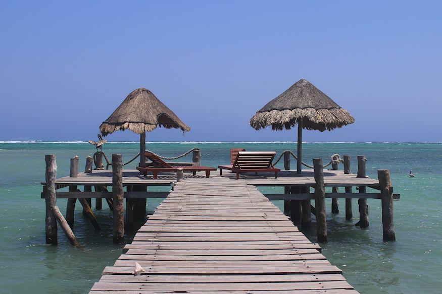 Playa Sonrisa Beautiful dock