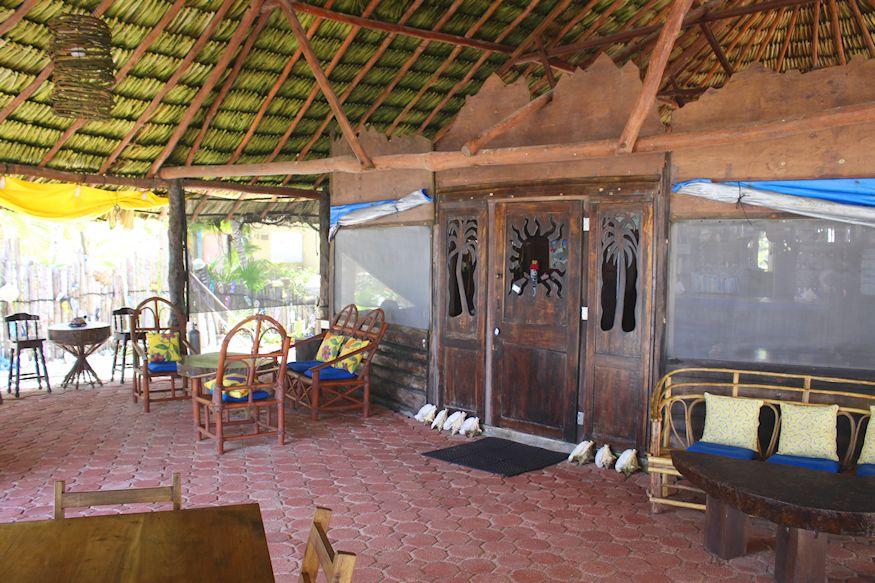 Restaurant at Playa Sonrisa