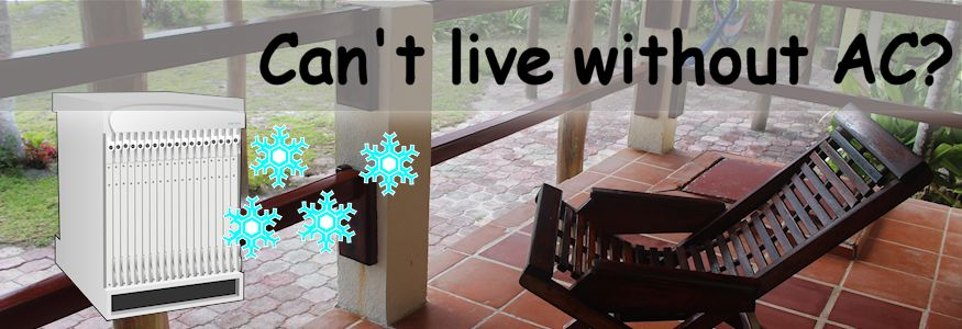 Cant live without AC relaxed chair