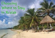 Choosing where to stay in Xcalak Beach