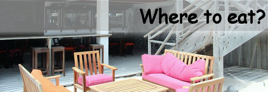 Where to eat beach restaurant