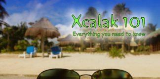 Xcalak 101 sunglasses on dock