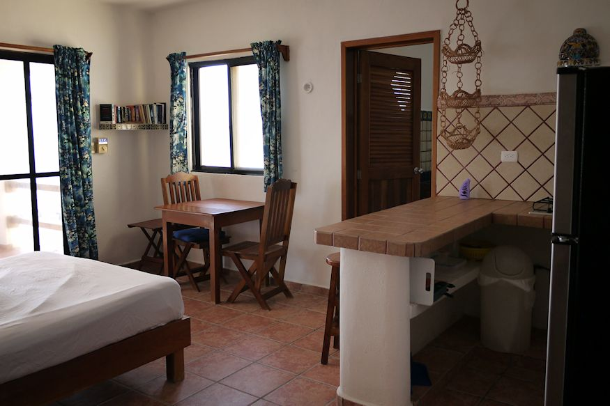 Kitchen room at Casa Paraiso