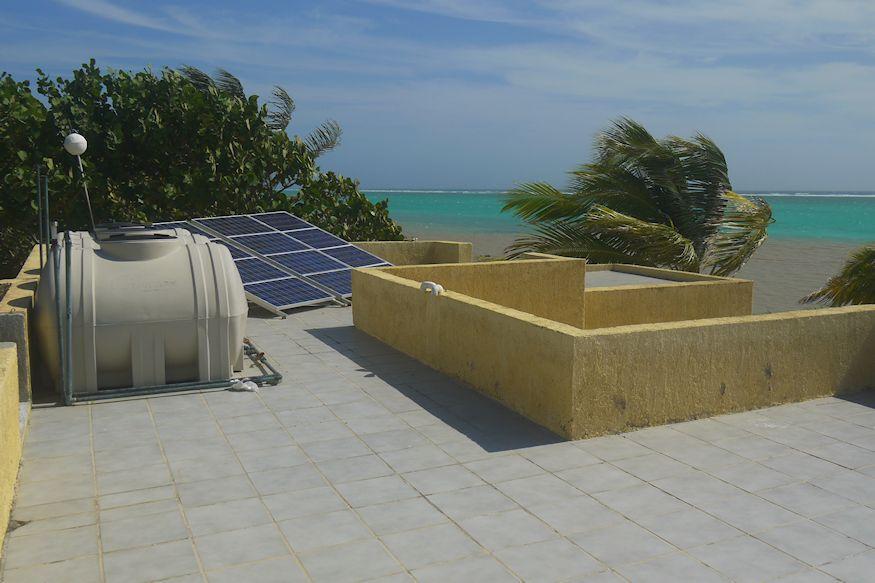 Rooftop of Casa Paraiso Xcalak