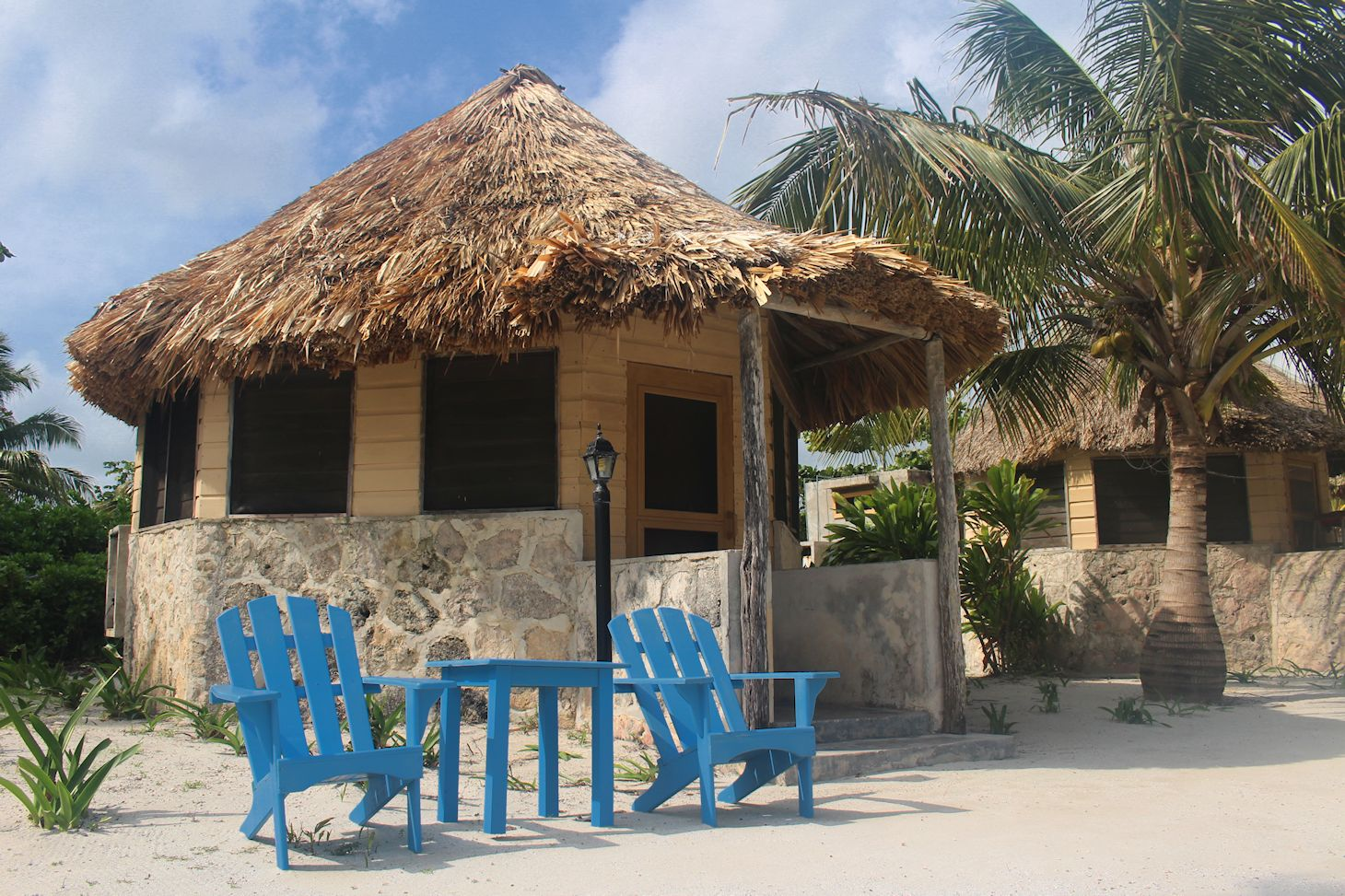 Palapa Hut with Chairs
