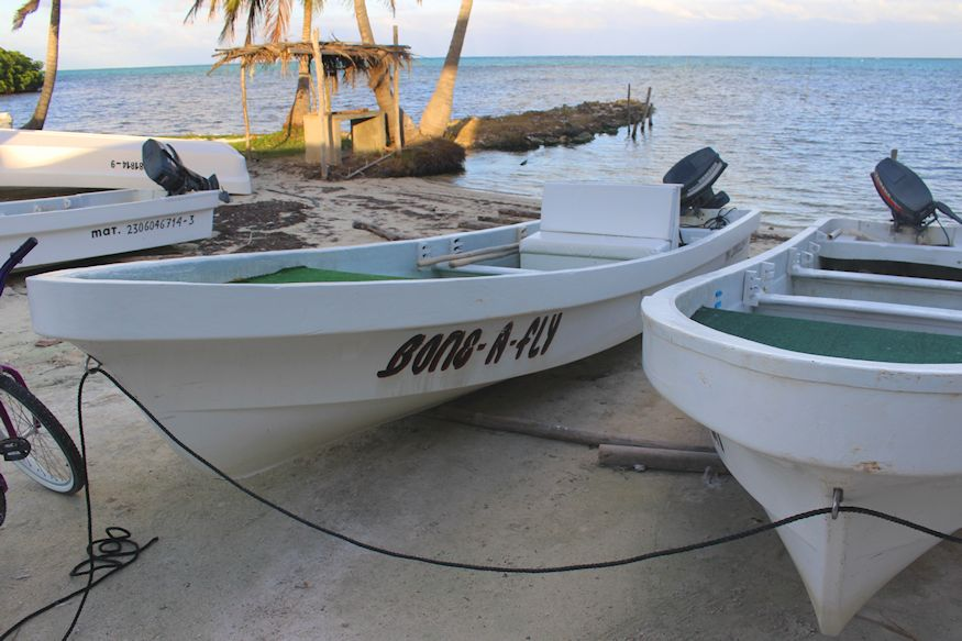Bone-a-fly fishing boat Costa de Cocos