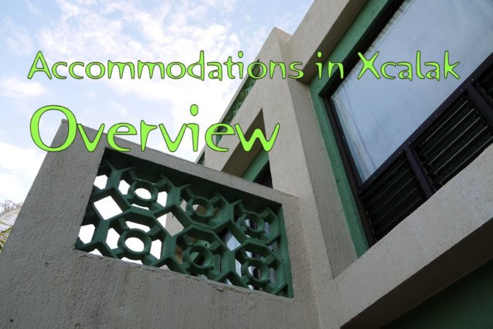 Accommodations in Xcalak - Overview