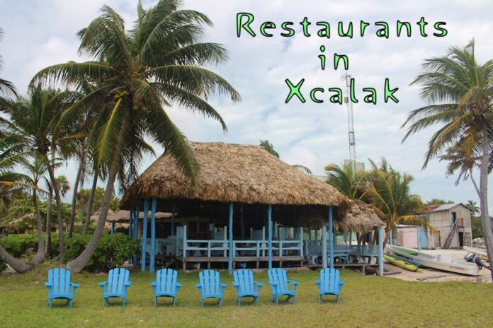 Restaurants in Xcalak