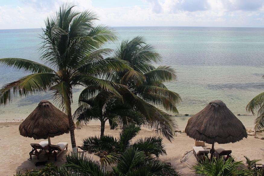 Sin Duda Villas View of Beach