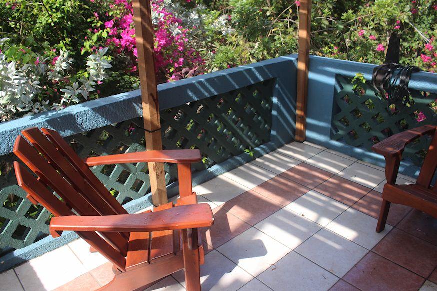 Sin Duda Villas Lagoon Balcony