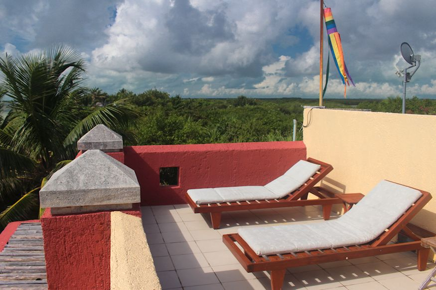 Sin Duda Villas Roof Patio