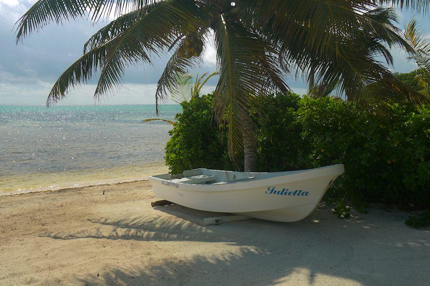 Boat at Terra Maya