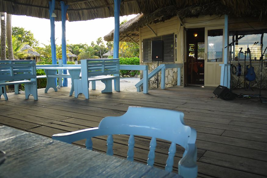 Chairs at Costa de Cocos Restaurant