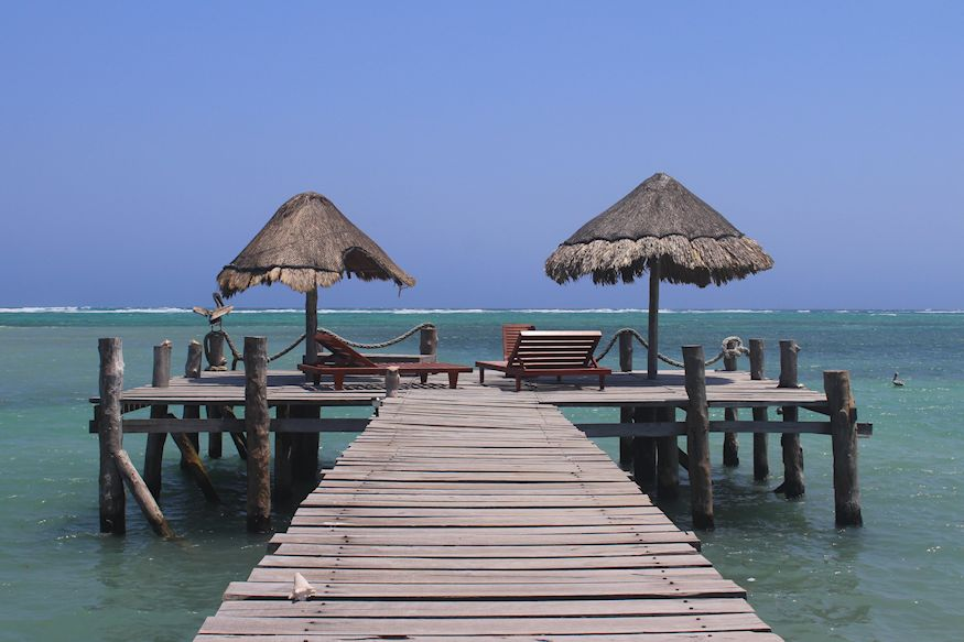 Playa Sonrisa Beautiful dock