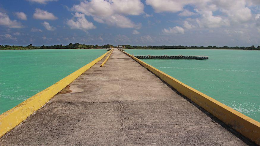 La Aguada Pier Chetumal Bay