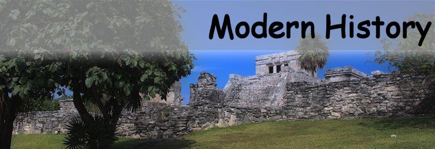 Modern History Ruins