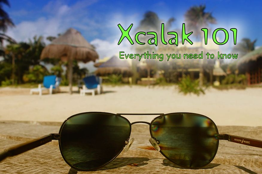 Xcalak 101 sunglasses on dock
