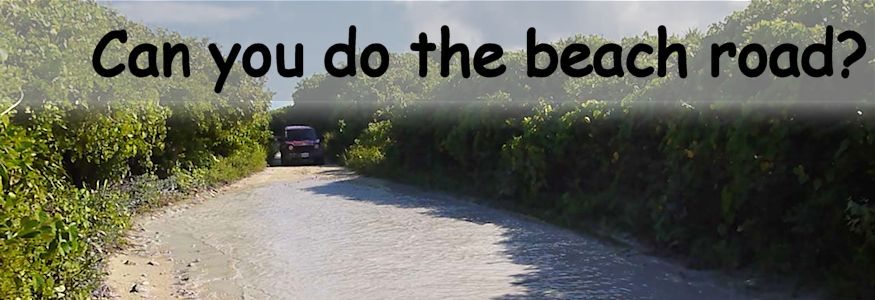 can you do the beach road truck in water