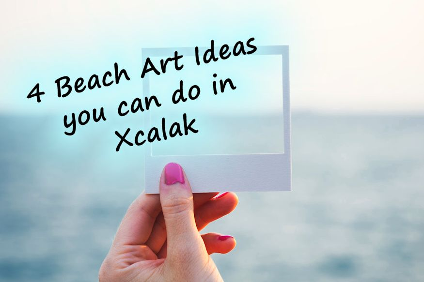 Beach Art Ideas in Xcalak