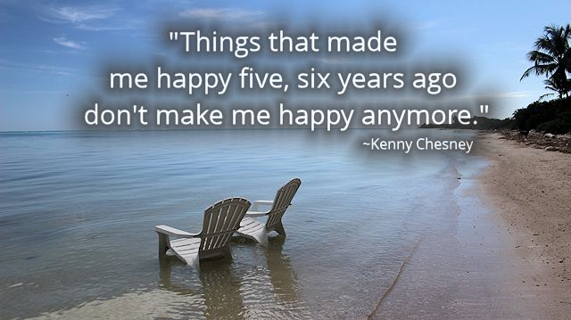 Chesney Quote Happy Chairs in Water