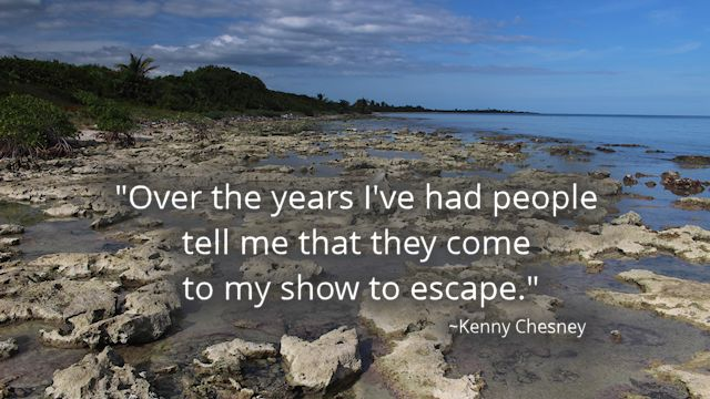 Chesney Quote Escape Limestone Shore