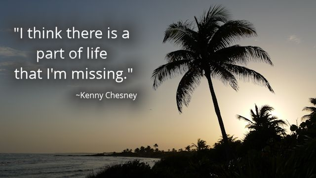Chesney Quote Life Palm Tree