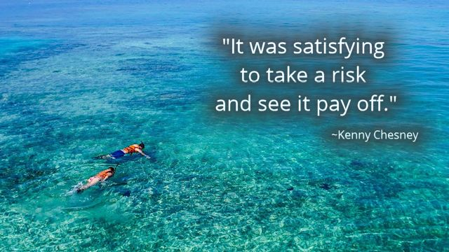 Chesney Quote Risk Snorkeling