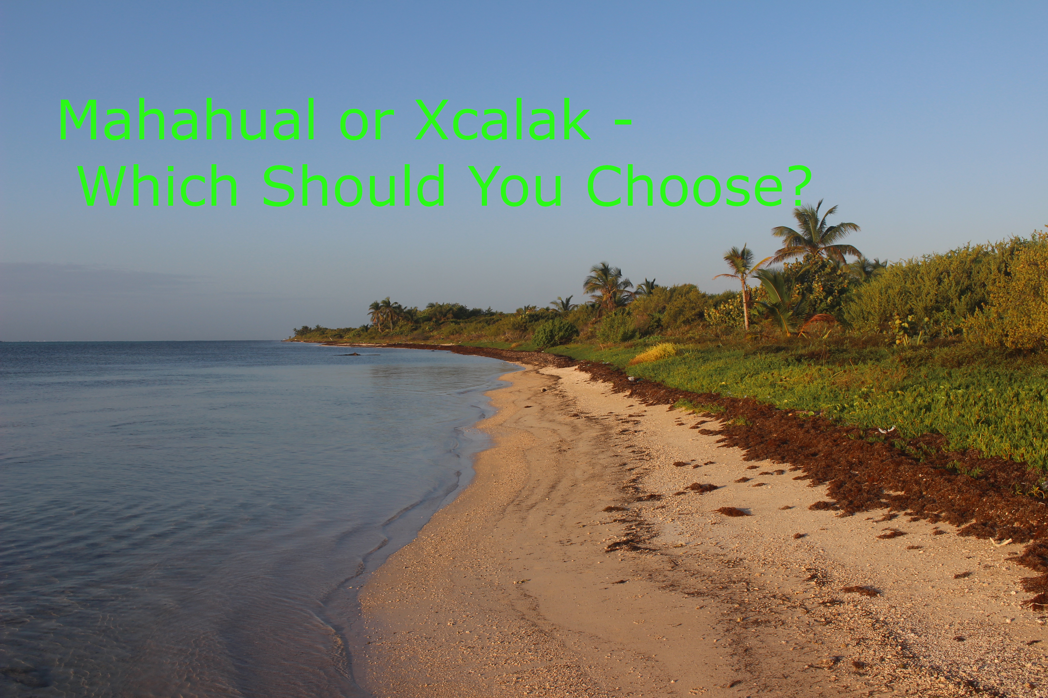Mahahual or Xcalak - Which Should You Choose featured image (Xcalak beach)